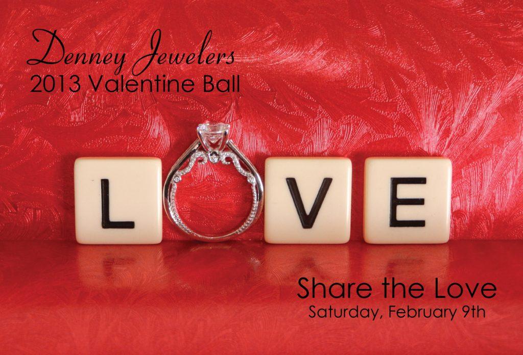 Valentine Ball 2013 at Denney Jewelers